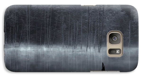 Galaxy Case featuring the photograph Madame Sherri's Pond II by Tom Singleton