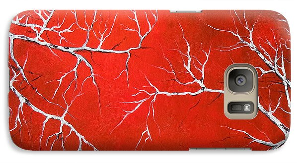 Galaxy Case featuring the painting Magical Night by Dan Whittemore