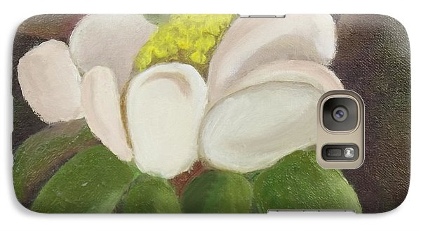 Galaxy Case featuring the painting Magnificient Magnolia by Margaret Harmon