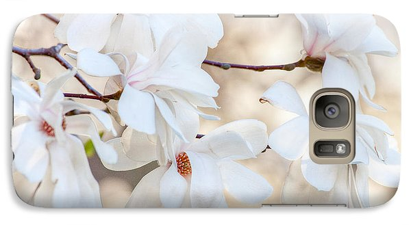 Galaxy Case featuring the photograph Magnolia Spring by Susan Cole Kelly
