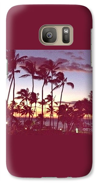 Galaxy Case featuring the photograph Mahalo For This Day by Beth Saffer