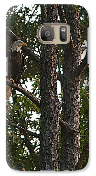 Galaxy Case featuring the photograph Majestic Bald Eagle by Clayton Bruster