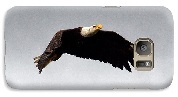 Galaxy Case featuring the photograph Majestic Flight by Polly Peacock