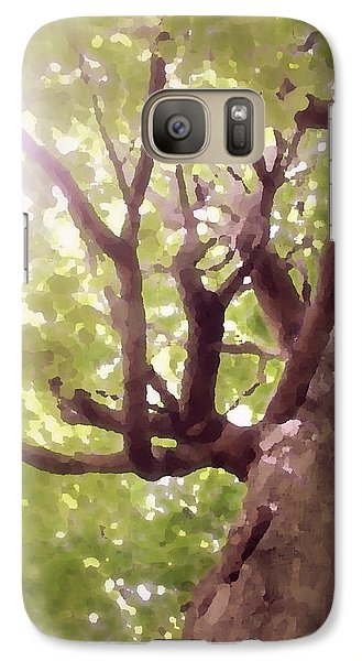 Galaxy Case featuring the photograph Majestic Maple by Brooke T Ryan