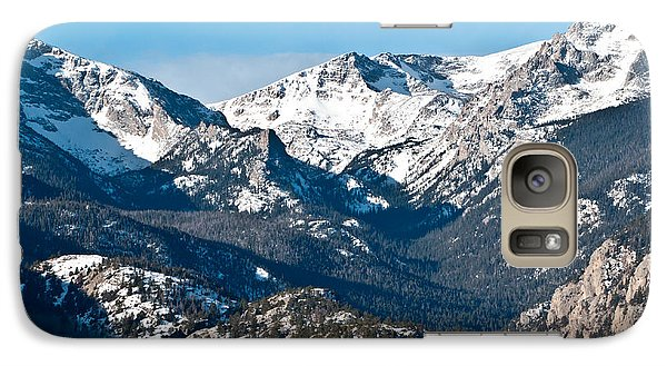 Galaxy Case featuring the photograph Majestic Rockies by Colleen Coccia