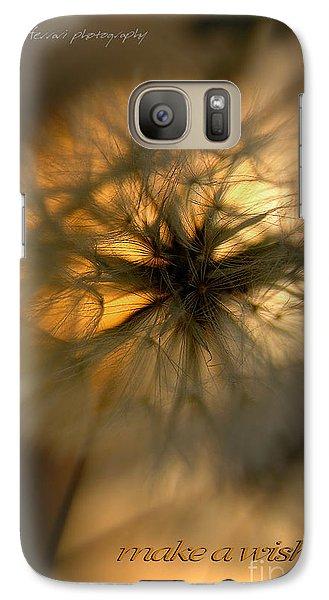 Galaxy Case featuring the photograph Make A Wish by Vicki Ferrari