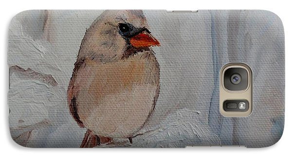 Galaxy Case featuring the painting Mama's On Her Way Home by Julie Brugh Riffey