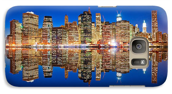 Galaxy Case featuring the photograph Manhattan by Luciano Mortula