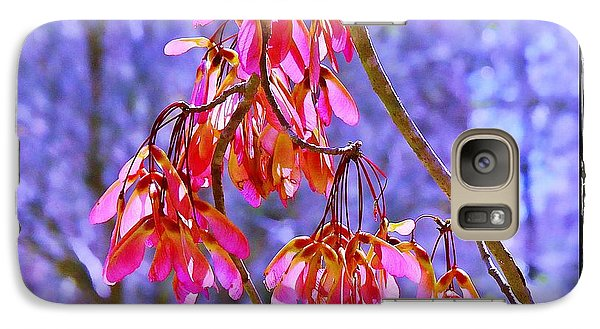 Galaxy Case featuring the photograph Maple Keys by Judi Bagwell