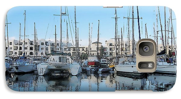 Galaxy Case featuring the photograph Marina At Port El Kantaoui Sousse Tunisia by Maciek Froncisz