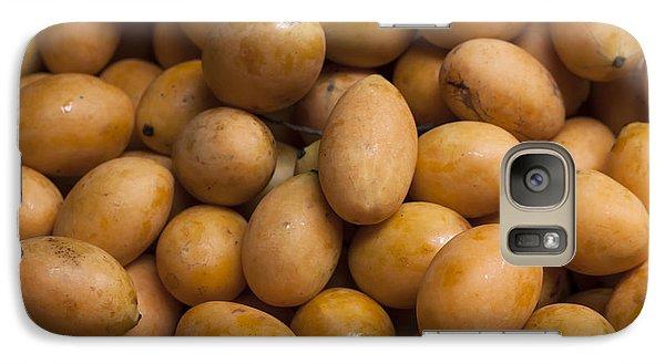 Market Mangoes II Galaxy Case by Zoe Ferrie
