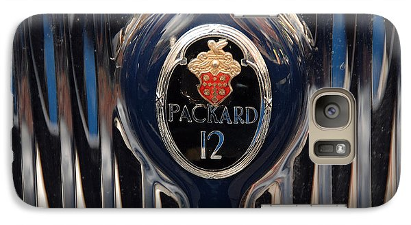 Galaxy Case featuring the photograph Marque Packard 12 by John Schneider