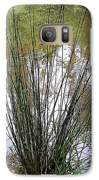 Galaxy Case featuring the photograph Marsh Grass by Renee Trenholm