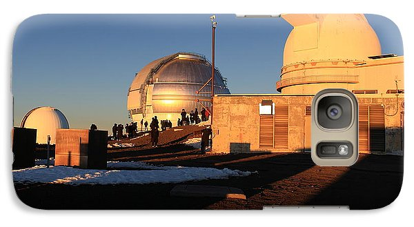 Galaxy Case featuring the photograph Mauna Kea Observatories by Scott Rackers