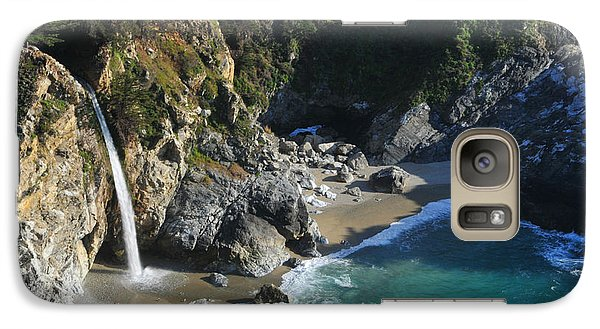 Galaxy Case featuring the photograph Mcway Falls by Lynn Bauer