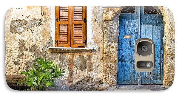 Mediterranean Door Window And Vase Galaxy S7 Case