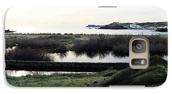 Galaxy Case featuring the photograph Mediterranean View by Pedro Cardona