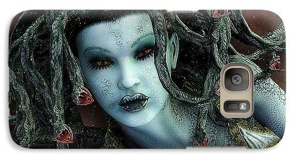 Medusa Galaxy S7 Case by Jutta Maria Pusl