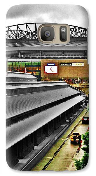 Galaxy Case featuring the photograph Melbourne Docklands by Blair Stuart