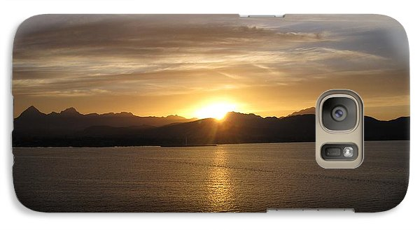 Galaxy Case featuring the photograph Mexican Sunset by Marilyn Wilson