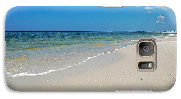 Galaxy Case featuring the photograph Mexico Beach by Kay Lovingood