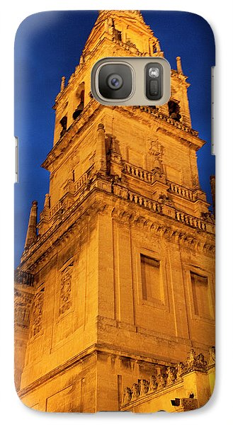 Galaxy Case featuring the photograph Mezquita Tower by Lorraine Devon Wilke