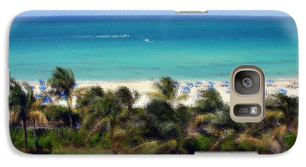 Galaxy Case featuring the photograph Miami Beach by Pravine Chester