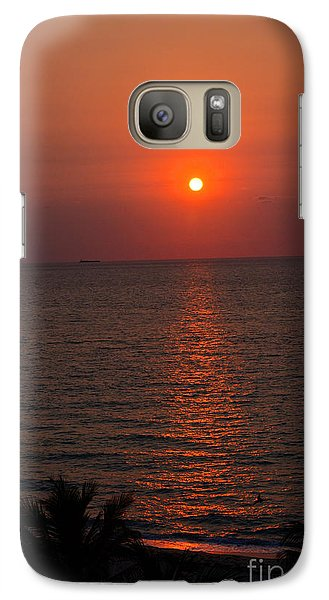 Galaxy Case featuring the photograph Miami Sunrise by Pravine Chester