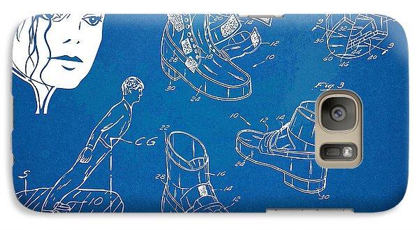 Michael Jackson Anti-gravity Shoe Patent Artwork Galaxy S7 Case by Nikki Marie Smith