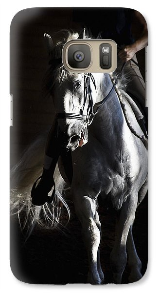 Galaxy Case featuring the photograph Midnight Ride by Wes and Dotty Weber