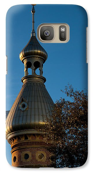 Galaxy Case featuring the photograph Minaret And Trees by Ed Gleichman