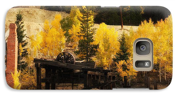 Galaxy Case featuring the photograph Mining Town by Angelique Olin