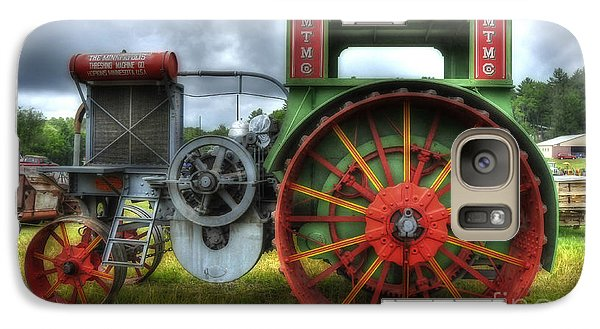 Galaxy Case featuring the photograph Minneapolis Threshing Machine Co. by Trey Foerster