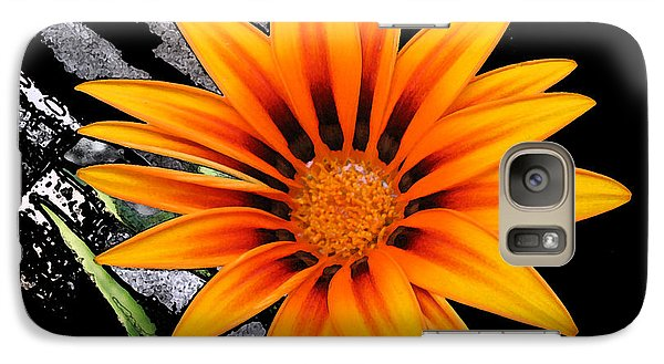 Galaxy Case featuring the photograph Miracle Of A Flower by Maciek Froncisz