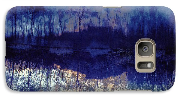 Galaxy Case featuring the photograph Mirror Pond In The Berkshires by Tom Wurl