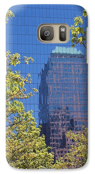 Galaxy Case featuring the photograph Mirror Reflections by Laurinda Bowling