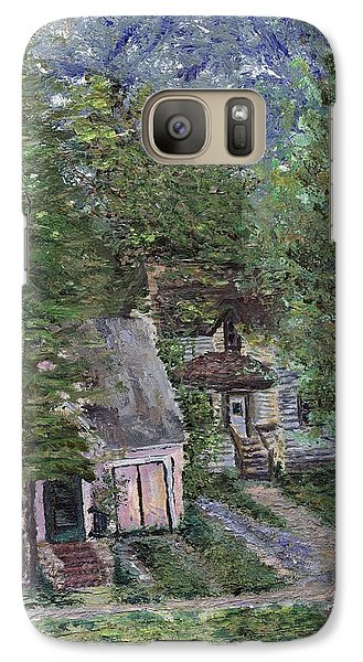 Galaxy Case featuring the painting Misfit Summerhome by Denny Morreale