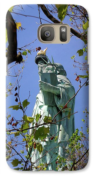 Galaxy Case featuring the photograph Miss Liberty by Paul Mashburn