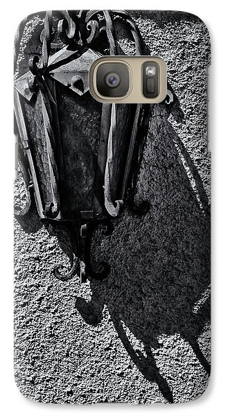 Galaxy Case featuring the photograph Mission Lamp by Tom Singleton