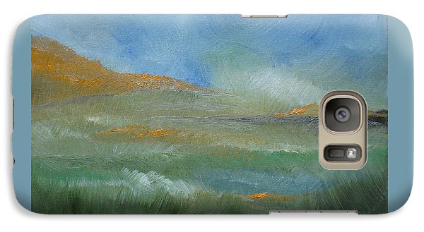 Galaxy Case featuring the painting Misty Morning by Judith Rhue