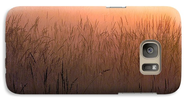 Galaxy Case featuring the photograph Misty Sunrise by I'ina Van Lawick