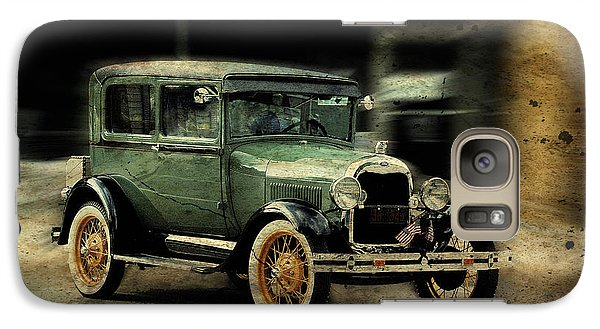 Galaxy Case featuring the photograph Model T by Janice Adomeit