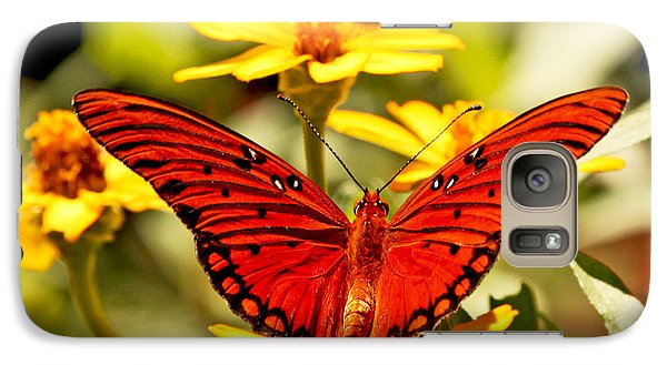 Galaxy Case featuring the photograph Monarch Butterfly  by Luana K Perez