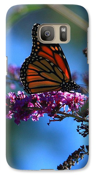 Galaxy Case featuring the photograph Monarch Butterfly by Patrick Witz
