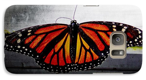 Galaxy Case featuring the photograph Monarch by Julia Wilcox