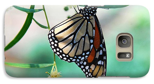 Galaxy Case featuring the photograph Monarch by Tam Ryan