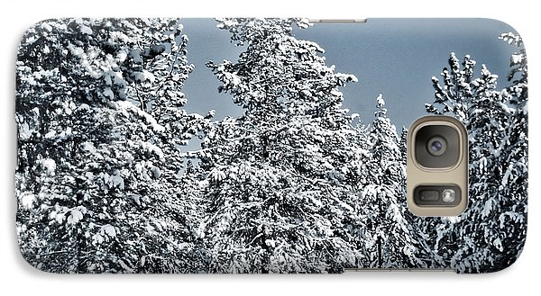 Galaxy Case featuring the photograph Montana Christmas by Janie Johnson