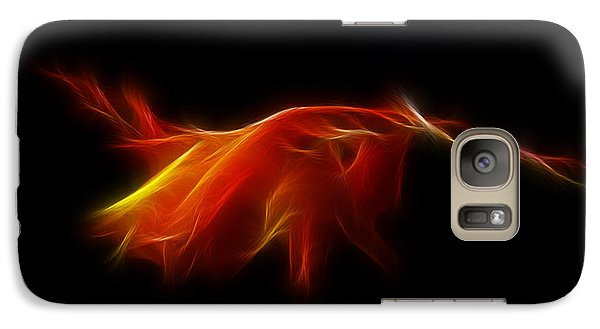 Galaxy Case featuring the photograph Montbretia by Lynn Bolt
