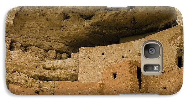 Galaxy Case featuring the photograph Montezuma's Castle by Tom Singleton