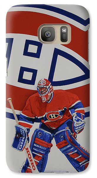 Galaxy Case featuring the painting Montreal by Cliff Spohn